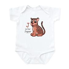 J is for Jaguar Infant Bodysuit