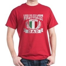World's Greatest Italian Dad T-Shirt