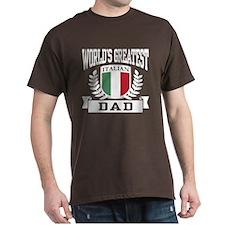 World's Greatest Italian Dad T-Shirt