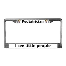Pediatrician License Plate Frame