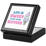 Life's Sweet 16 Keepsake Box