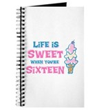 Life's Sweet 16 Journal