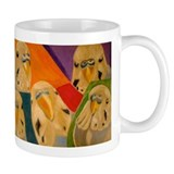 Budgerigar Parakeet Coffee Mug