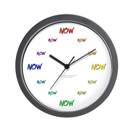 Original NOW Wall Clock