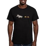 Assburgers Men's Fitted T-Shirt (dark)