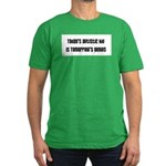 Today's Autistic Kid, Tomorro Men's Fitted T-Shirt