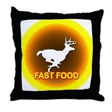 Fast Food... Throw Pillow