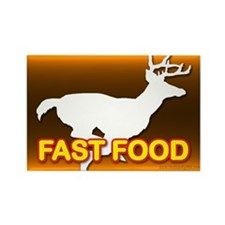 Fast Food... Rectangle Magnet (10 pack)