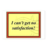 """I Can't Get No Satisfaction"" Postcards (Package o"