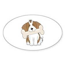 King Charles Spaniel Oval Decal