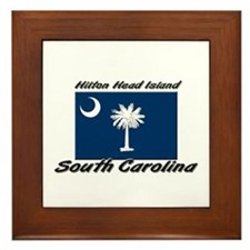 Hilton Head Island South Carolina Framed Tile