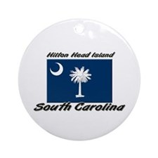 Hilton Head Island South Carolina Ornament (Round)
