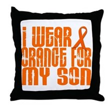 I Wear Orange For My Son 16 Throw Pillow