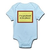 """Friends In Low Places"" Onesie"