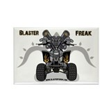 Blaster Freak Rectangle Magnet