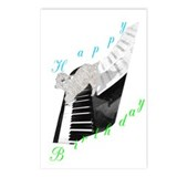 Angora Piano Goat Postcards (Package of 8)