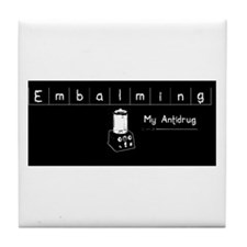 Embalming Antidrug Tile Coaster