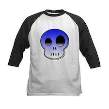 Lttle buddy blue skull Tee
