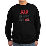 333 HALF EVIL Sweatshirt (dark)