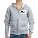 TOADILY LIKE A PIRATE Women's Zip Hoodie