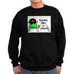 TOADILY LIKE A PIRATE Sweatshirt (dark)