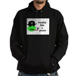TOADILY LIKE A PIRATE Hoodie (dark)