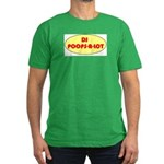DJ POOPS-A-LOT Men's Fitted T-Shirt (dark)