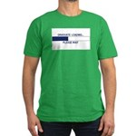 GRADUATE LOADING... Men's Fitted T-Shirt (dark)