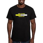 FART LOADING... Men's Fitted T-Shirt (dark)