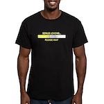 GENIUS LOADING... Men's Fitted T-Shirt (dark)