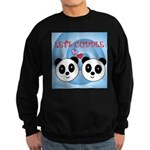 LET'S CUDDLE Sweatshirt (dark)