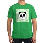 PANDA BEAR Men's Fitted T-Shirt (dark)