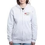BRAIN CAPACITY LIMIT Women's Zip Hoodie