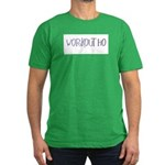 WORKOUT HO Men's Fitted T-Shirt (dark)