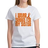 I Wear Orange For My Sister 16 Tee