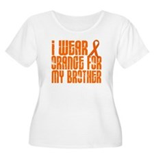 I Wear Orange For My Brother 16 T-Shirt