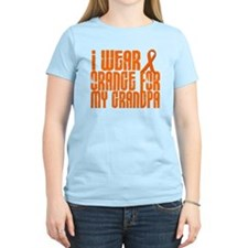 I Wear Orange For My Grandpa 16 T-Shirt
