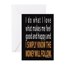 Do What You Love Greeting Cards (Pk of 10)
