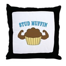 Stud Muffin 2 Throw Pillow