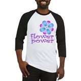 flower power Baseball Jersey