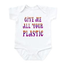 give plastic Infant Bodysuit