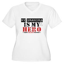 Lung Cancer Hero Grandma T-Shirt