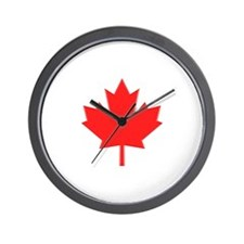 Big A** Maple Leaf Wall Clock