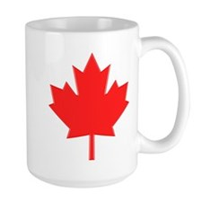 Big A** Maple Leaf Ceramic Mugs