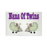 Nana To Twins Rectangle Magnet