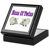 Nana To Twins Keepsake Box