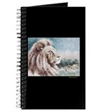 AntoinetteArt Curly Permed Lion Journal