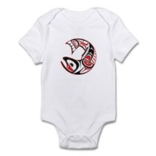 salmon Infant Bodysuit