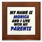 my name is monica and I live with my parents Frame