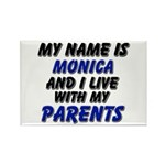 my name is monica and I live with my parents Recta